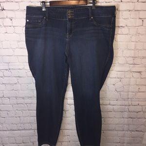 Torrid Luxe skinny jeans